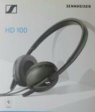 Sennheiser HD 100 Cuffia Stereo Dinamica Sovraurale, Leggera, Richiudibile