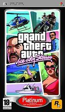 Grand Theft Auto Vice City Stories Sony PSP Platinum GTA New & Sealed Free P&P