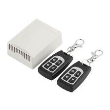 12V 4CH 200M Wireless Remote Control Relay Transceiver + Receiver 433MHz S120