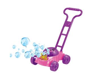 Bubble Lawnmower Bubbles Machine Blower Outdoor Garden Toy 2 Colours