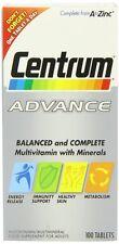 CENTRUM ADVANCE - 100 TABLETS
