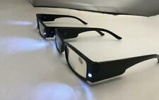 2 Pair Reading glasses with LED light and a box strength +1.00-4.00
