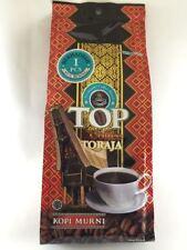 Top Coffee Toraja, Robusta-Arabica Blend Indonesian Coffee from Sumatera 165 gr
