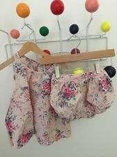 Taille 0 Eliane Et Lena Dress And Bloomers 6m Floral Pink Blue