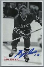Guy Lalfeur Autographed Signed Montreal Canadiens 3.5 X 5.5 NHL Photo w/COA