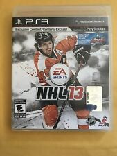NHL 13 game for Sony Playstation 3 PS3 -( Complete )