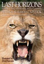 Last Horizons Peter Capstick Hunting Big Game African Africa Buffalo Lion Rhinos