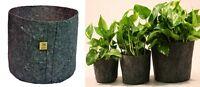 Root Pouch gris 12L Pot Géotextile Smart grow Pot guerilla jardin indoor fleurs