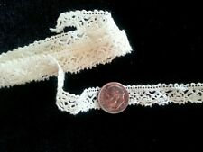Antique Dainty Lace Doll Trim Sewing Clothes Loop Picots Edge Blythe