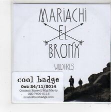 (FN383) Mariachi El Bronx, Wildfires - 2014 DJ CD