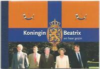 Países Bajos De 2004 Perfecto Estado Folleto Sello 65 MiNr.2178-2187 - Casa Real