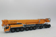 WSI 52-2019 54-2008 Liebherr Ltm 1750 Mobile Crane 9.1 Yellow 1:50 New IN Boxed