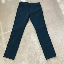 Salvatore Ferragamo Men's Jeans 14 1348 P Made In Italy 32/32 NWT $430