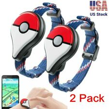 2 Pack Pokemon Go Plus Bluetooth wristband bracelet watch game accessories Usa