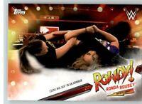 2019 WWE Raw Spotlight #14 Ronda Rousey