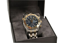 Omega Seamaster Diver 300m Chronograph Titan / 18k Gold