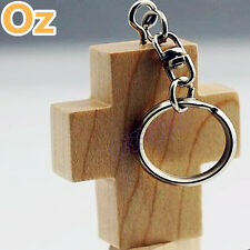 Cross USB Stick, 8GB 3D Wood Quality USB Flash Drives WeirdLand