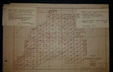 1942 US Army Maps Morocco 135 Sheets COMPLETE SET ww 2 vintage military
