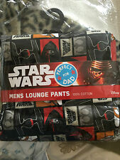 Star wars the force awakens  mens size  XL   lounge  pants