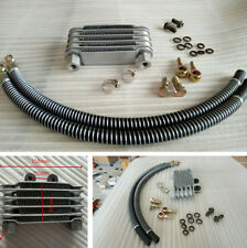 1Set Motorcycle Scooter Dirt Bike Metal Oil Cooler Radiator with Accessories Kit