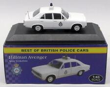 Atlas Editions 1/43 Scale 4 650 112 - Hillman Avenger - W.Yorkshire Police Car