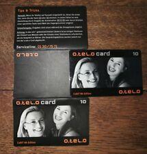 Telefonkarte rar, selten! O.tel.o card CeBIT 98-Edititon , war nur für Händler!