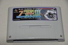 Nintendo Super Famicom juego SNES-japón NTSC-J-Super Fire III Pro-Wrestling