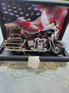 Harley Davidson Franklin Mint Die Cast 1:10 Scale  Electra Glide