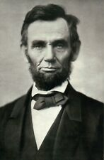 Abraham Lincoln 16th President of the United States, US Civil War --- Postcard