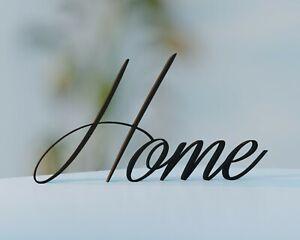 Home Schriftzug | Schreibschrift | Schwarz