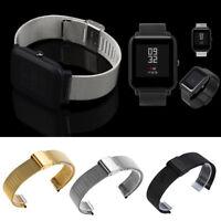 Milanese  Edelstahl Armband Luxus für Xiaomi Huami Amazfit Bip Jugend Uhr z26