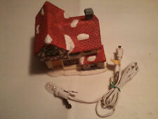 christmas porcelain lighted house