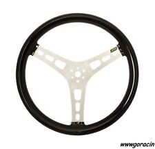 """Joes Racing Products 15"""" Flat Rubber Coated Aluminum Steering Wheel,SCCA,IMCA"""
