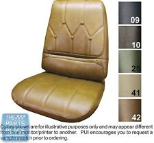 1971-72 Riviera Black Front Buckets Seat Covers - PUI