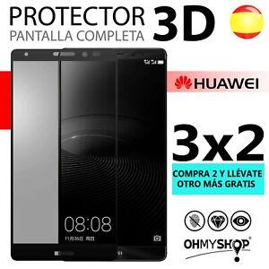 Protector Pantalla Huawei P10/P10 Lite Cristal Templado 3D Pantalla Completa 9H