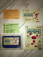 JOY MECH FIGHT MECHA with Box Manual Nintendo Famicom NES Japan FS