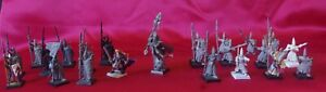 23 Hauts Elfes Warhammer Battle MAGE Lancier Étendard Garde Maritime Seigneur !!