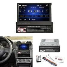 Car MP5 Player Stereo Bluetooth Radio Automatic Telescopic Screen FM/USB/AUX/SD