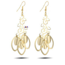 Fashion Party Style Dangle Long Gold Silver Platted Drop Earring Ear Ring