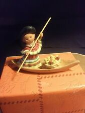 Friends of the Feather figurine Southeast Dugout Canoe