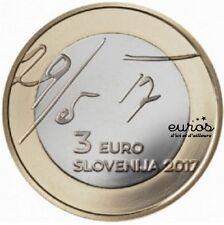 Pièce 3 euros SLOVENIE 2017 - 100ème anniversaire de la Déclaration de Mai - UNC