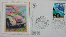 ENVELOPPE PREMIER JOUR - 9 x 16,5 cm - ANNEE 2002 - XX° siècle TRANSPORTS