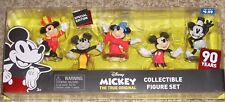 2018 Just Play Disney 5 Figure Gift Set Mickey Mouse 90 Years Steamboat Willie