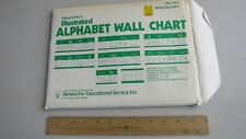 Vintage New Old Stock Kenworthy's Alphabet Wall Chart Abc's 123's