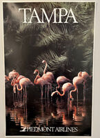 """Piedmont Airlines Tampa Poster 24"""" x 36"""""""