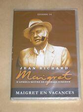 DVD SERIE / MAIGRET / JEAN RICHARD / MAIGRET EN VACANCES / NEUF SOUS CELLO