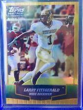 04 2004 Topps DPP Draft picks GOLD refractor LARRY FITZGERALD Rookie rc #140 SSP