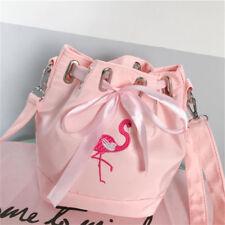 Flamingo Ribbon Bucket Bag for Fujifilm Instax Mini 25 50 7S 8 90 SQ10 Camera