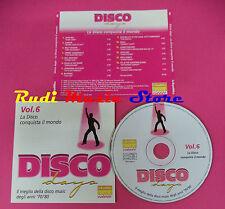 CD La Disco Conquista Il Mondo Compilation JAMES BROWN LIPPS no mc vhs dvd(C39)