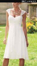 New wedding dress chiffon size 14